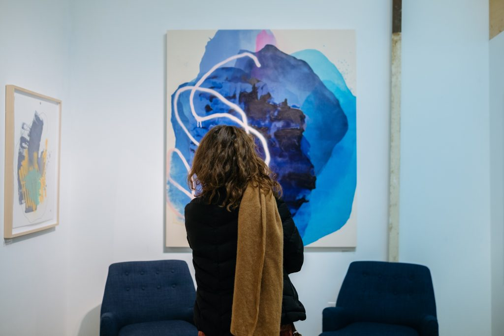 Rebecca Youssef's studio.