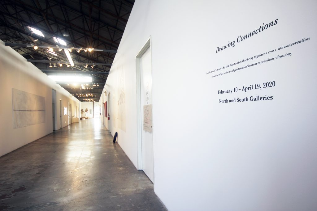 Drawing Connections, installation view.