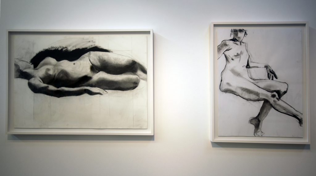 Pamela Simon Jensen, Untitled 1, 2011. Charcoal and pencil on paper. Courtesy of the artist.