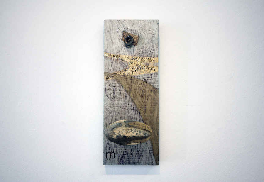 Debra Disman, Pound with Energy, 1994. Mixed Media. Courtesy of the artist.