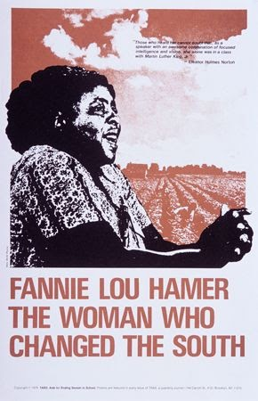 TABS: Aids for ending Sexism in Schools, Fannie Lou Hamer – The Woman Who Changed the South, 1979. Offset. Brooklyn, NY.