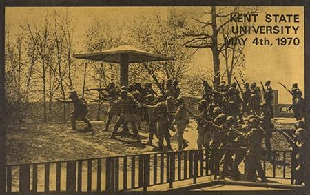 Artist Unknown. Kent State University May 4th, 1970, Circa 1970. Offset. United States.