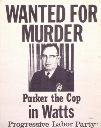 Progressive Labor Party and Berkeley Free Press, Wanted for Murder, 1965. Offset. Berkeley, CA.