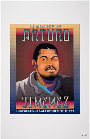 David Monkawa, In Memory of Arturo Jiménez, Circa 1991. Photocopy. Los Angeles, CA.