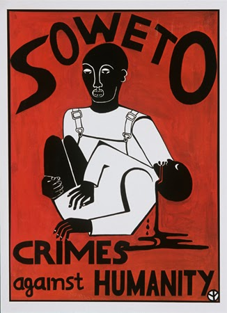 Birgit Walker and American Committee on Africa, Soweto - Crimes Against Humanity, 1977. Offset. New York, NY.