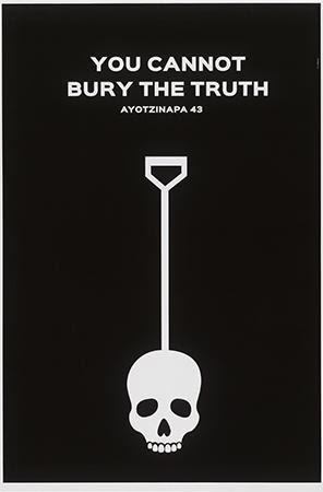 Katarzyna Saskia Helińska, You Cannot Bury the Truth, 2015. Digital Print. Mexico and Poland.