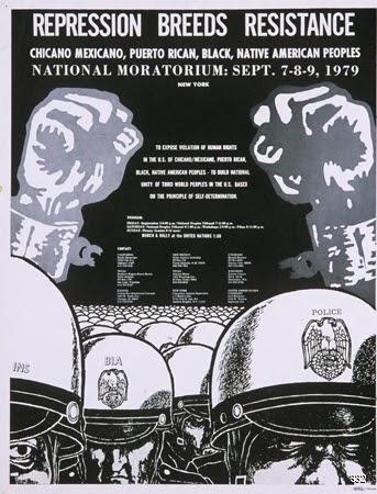 Inkworks Press and Ron Cobb, Repression Breeds Resistance, 1979. Offset. Berkeley, CA.