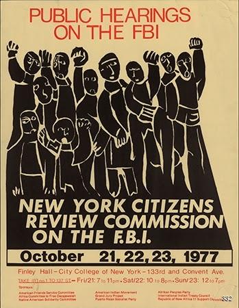 Richard Hoover, Public Hearings on the FBI, 1977. Offset. New York, NY