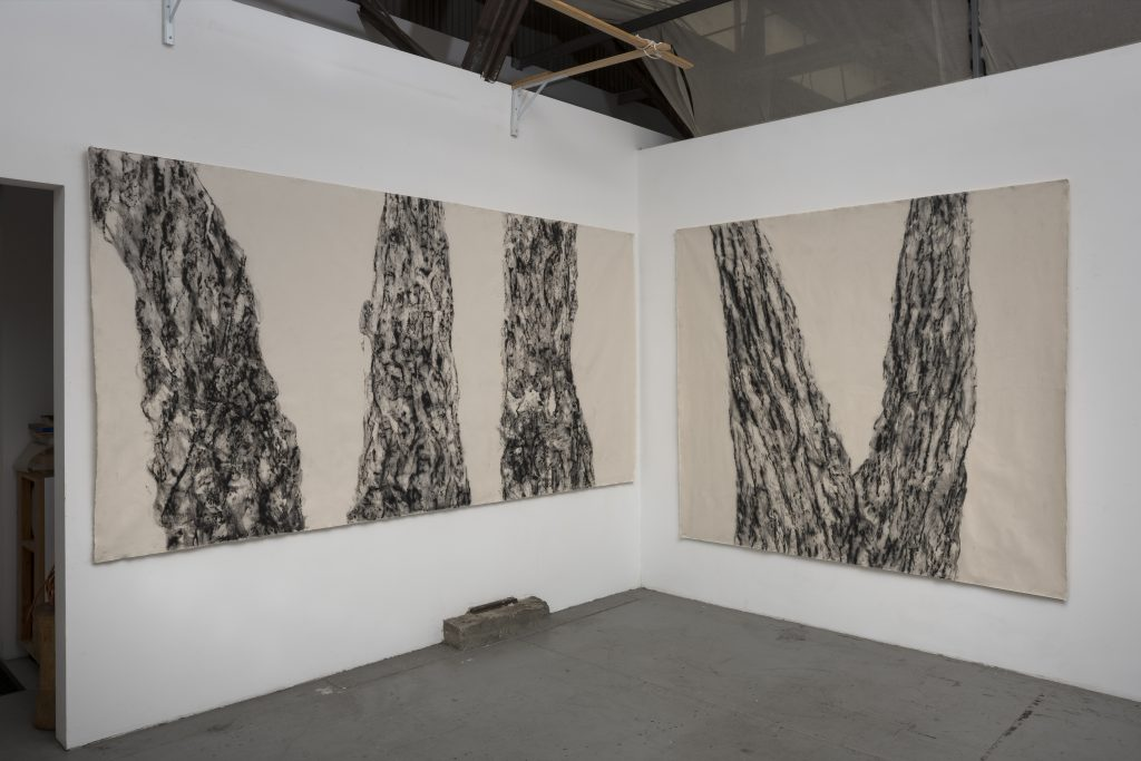 Joan Wulf, Echoes, 2020. Installation view. Photo by Gene Ogami. Courtesy of the artist.