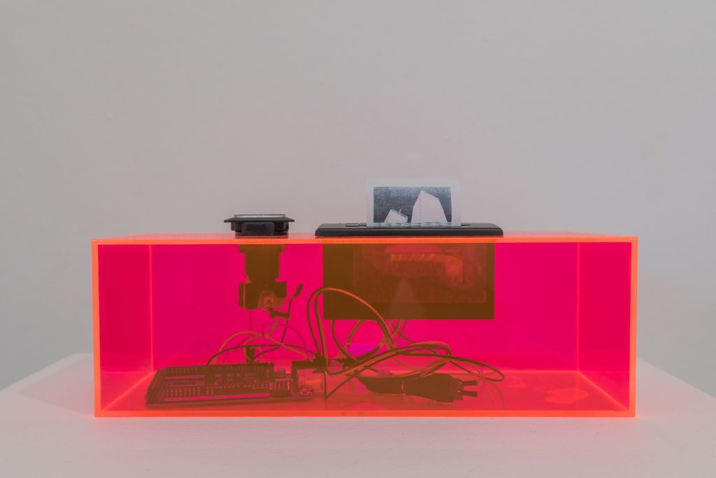 Beatriz Cortez and Kang Seung Lee, Becoming Atmosphere, 2020 4.5 x 12 x 4 inches (11.5 x 30.5 x 10 cm.). Photo by Marc Walker.