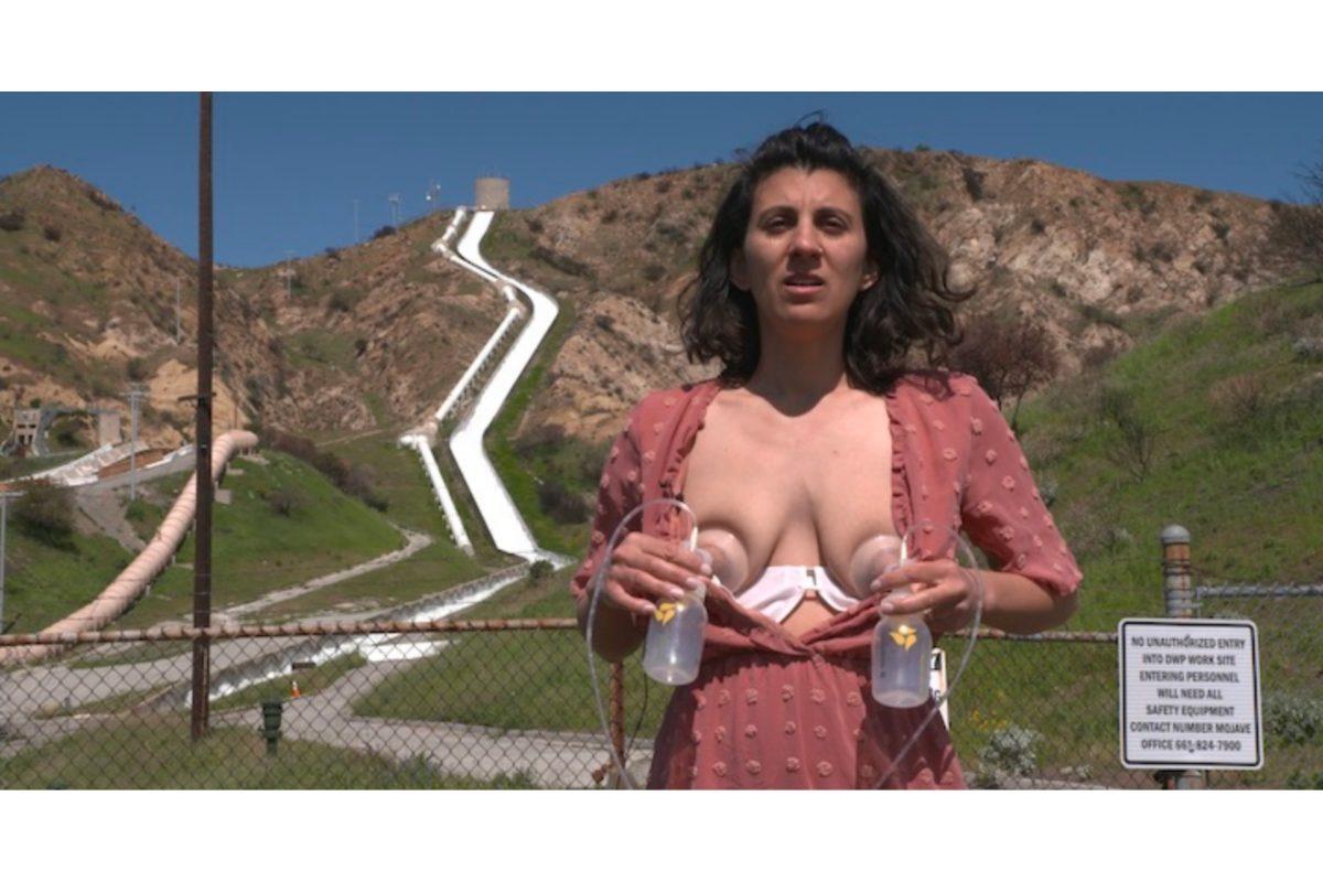 Patty Chang, Milk Debt, 2020, Video Still. TRT: 60 Min. Courtesy Of The Artist.