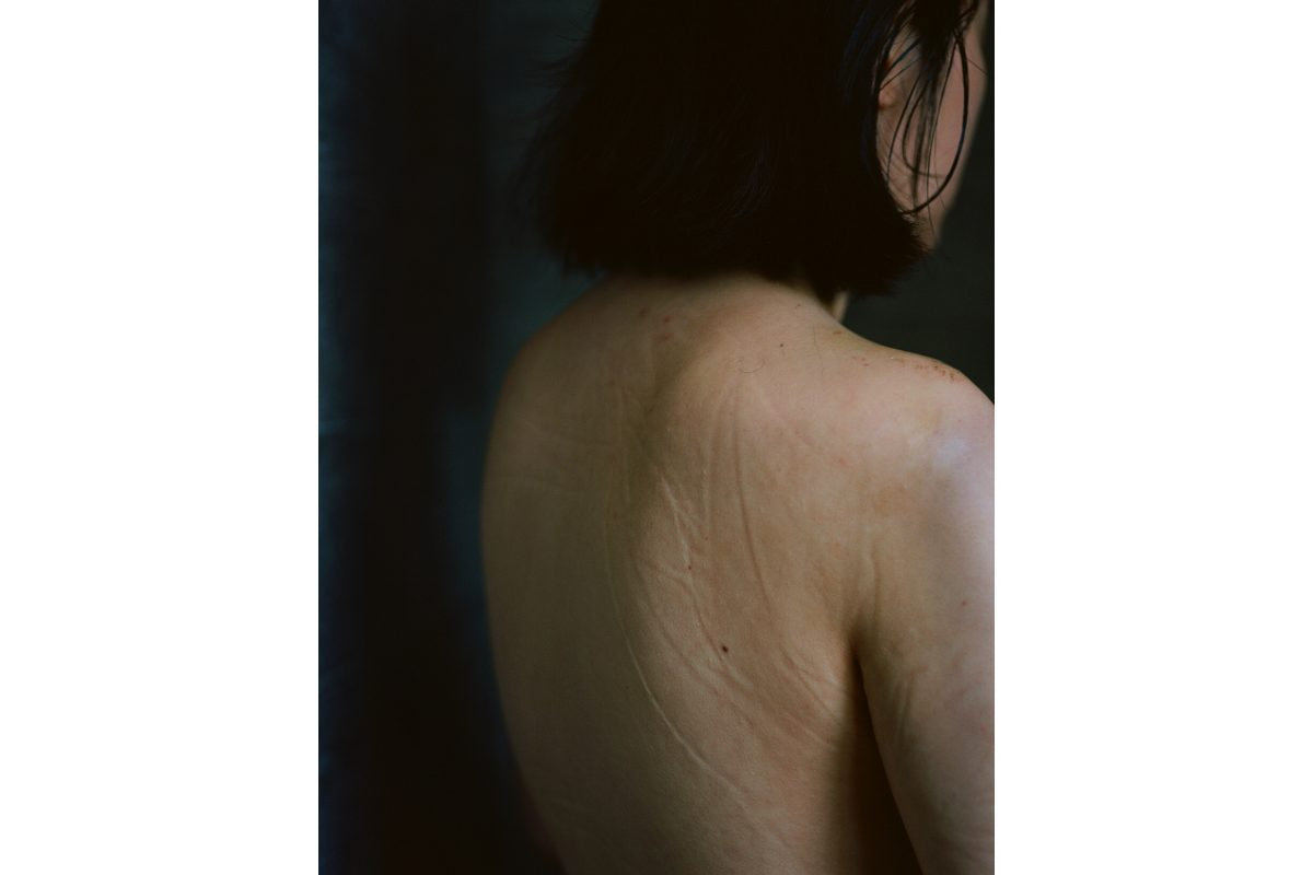 Siru Wen, Shower me, 2020. Chromogenic print. 28 x 22 inches. Photo by the artist. Courtesy of the artist.
