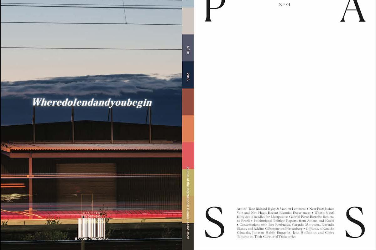 PASS: Journal of the International Biennial Association, 2018. Courtesy of Studio Gusto, Miami.