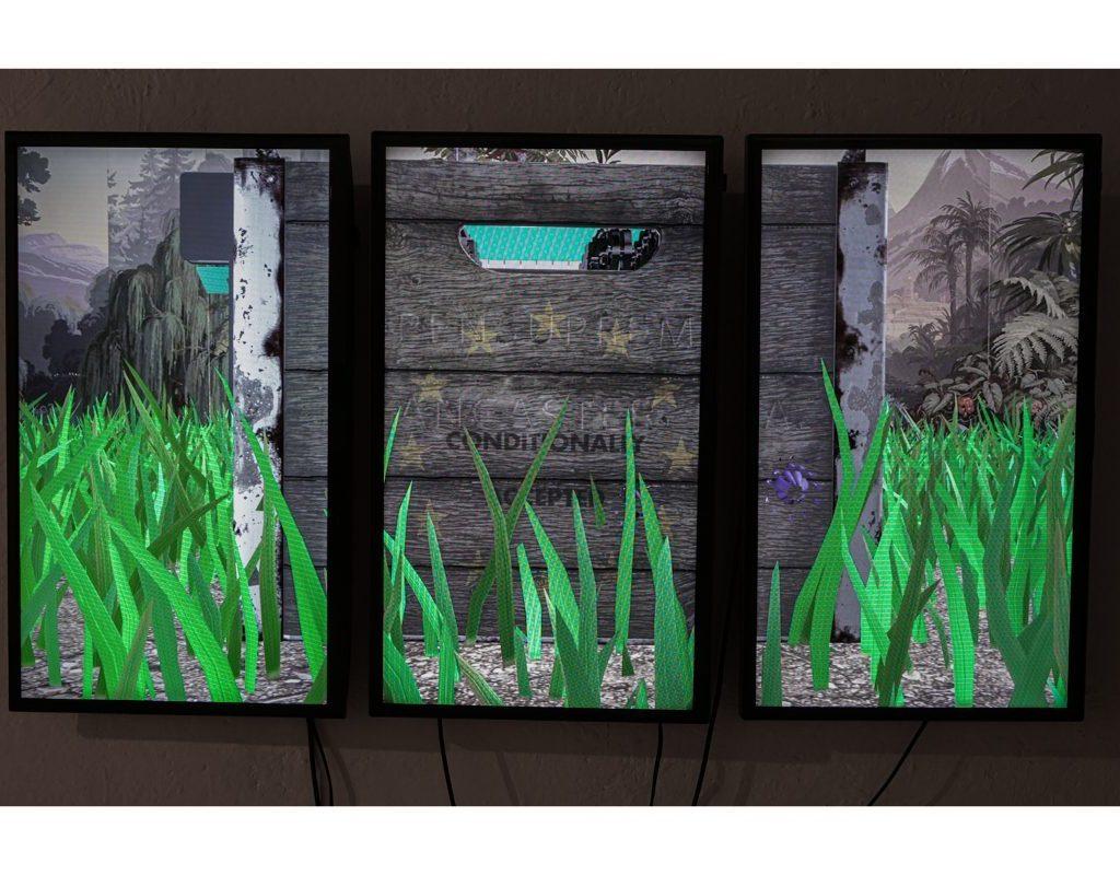 Elia Nurvista, Früchtlinge, 2019. 12 Mins 45 Secs, Color, Sound, Single Channel Video Animation.