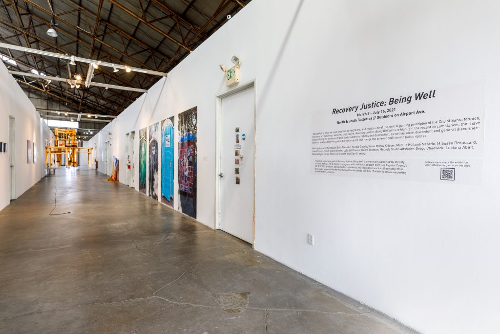 Recovery Justice: Being Well - installation view. Photo by Marc Walker.