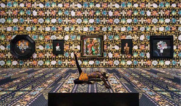 Rashaad Newsome, To Be Real, 2020. Installation Shot, Fort Mason Center For Art And Culture, San Francisco, CA. Image Courtesy Of Rashaad Newsome Studio.