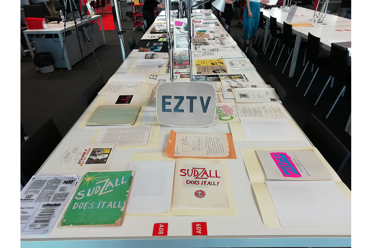 SeedyFilms #4, Presentation Of The Archives Of EZTV From The Collections Of The ONE National Gay & Lesbian Archives And EZTV, Preserved At The 18th Street Arts Center (Santa Monica, CA), With Kate Johnson And Michael Masucci, June 21st 2019. Bibliothèque Kandinsky, Centre Georges Pompidou, Paris, France.