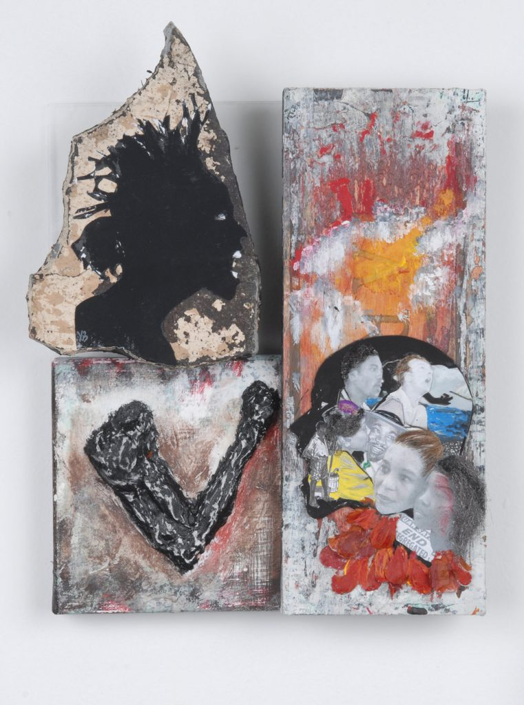 Yrneh Gabon, Stand Firm Within, River DeNile series, 2008. Mixed media. 9 x 12 x 4 inches. Courtesy of the artist.